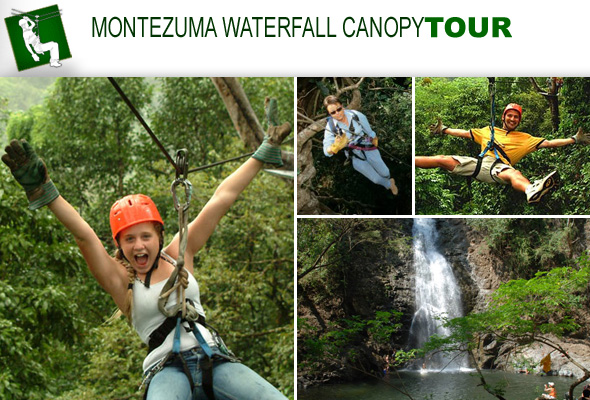 The Montezuma Waterfall Canopy Tour